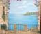 Роспись «Вид на море» стены  в Малышево, 2013г.