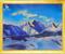 Батик «Горы», копия с картины Н.Рериха 2006г.