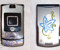 Инкрустация кристаллами Swarovski телефона Motorolla, 2008г.