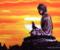 Аэрография «Будда», май 2015г.